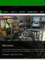 S&J Civils new website